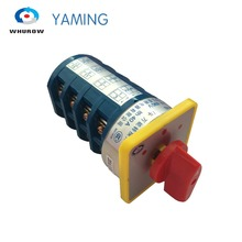 Factory wholesale LW5-40D/4 40A 16 Terminals 3 Positions 4 poles Cam Changeover Switch Reversing switches rotary (1-0-2)