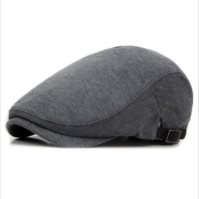 2a6963ee105bf New autumn winter berets caps for men outdoor straight visor hats jpg  640x640 Boinas bone