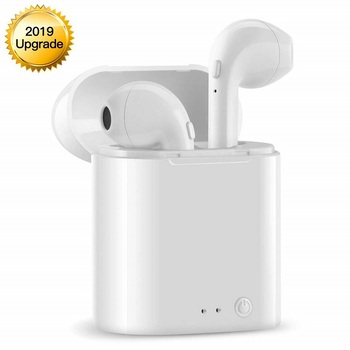Mini Wireless Bluetooth Earphone Earbud Headset for Coolpad Cool Play 6 7 7C 8 8 Lite Music Mic Charging Box