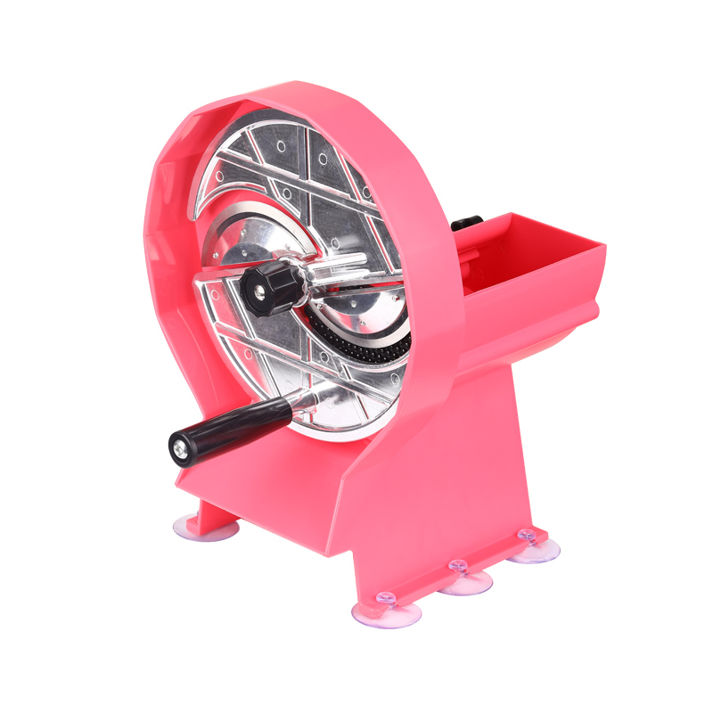 Multifunctional Manual Rotary Lemon Fruit Vegetable Slicer Food Chipping Machine Stainless Steel Food Slicer Household Chopper