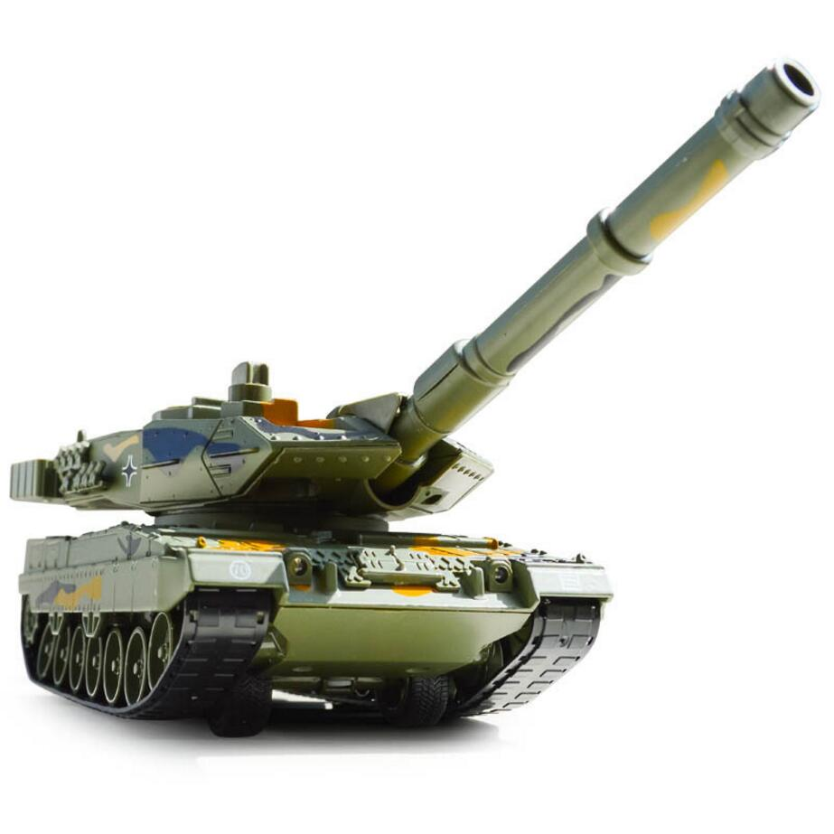 Military Series 1:40 scale Germany Leopard 2A6 Main Battle diecast Tank Can shoot BB Bullet alloy pull back toys metal model 21st century 1 32 scale diecast tank model toys wwii germany marder iii msd kfz 139 artillery gun tank kids model toys collect