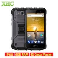 Ulefone Armor 2 4G Smartphone IP68 Waterproof 6GB+64GB 5.0'' FHD Android 7.0 4700mAh Octa Core 2.6GHz Dual SIM NFC Mobile Phone