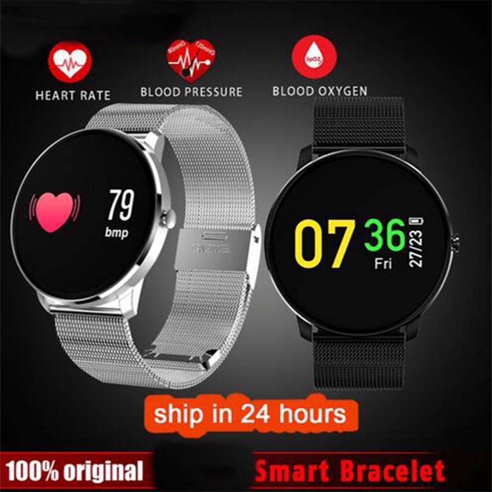 Colorful Moving Bracelet Smart Watch Wristband Heart Rate Blood Pressure Pedometer Smarband for Samsung Galaxy J7 J5 J3 J700F цена
