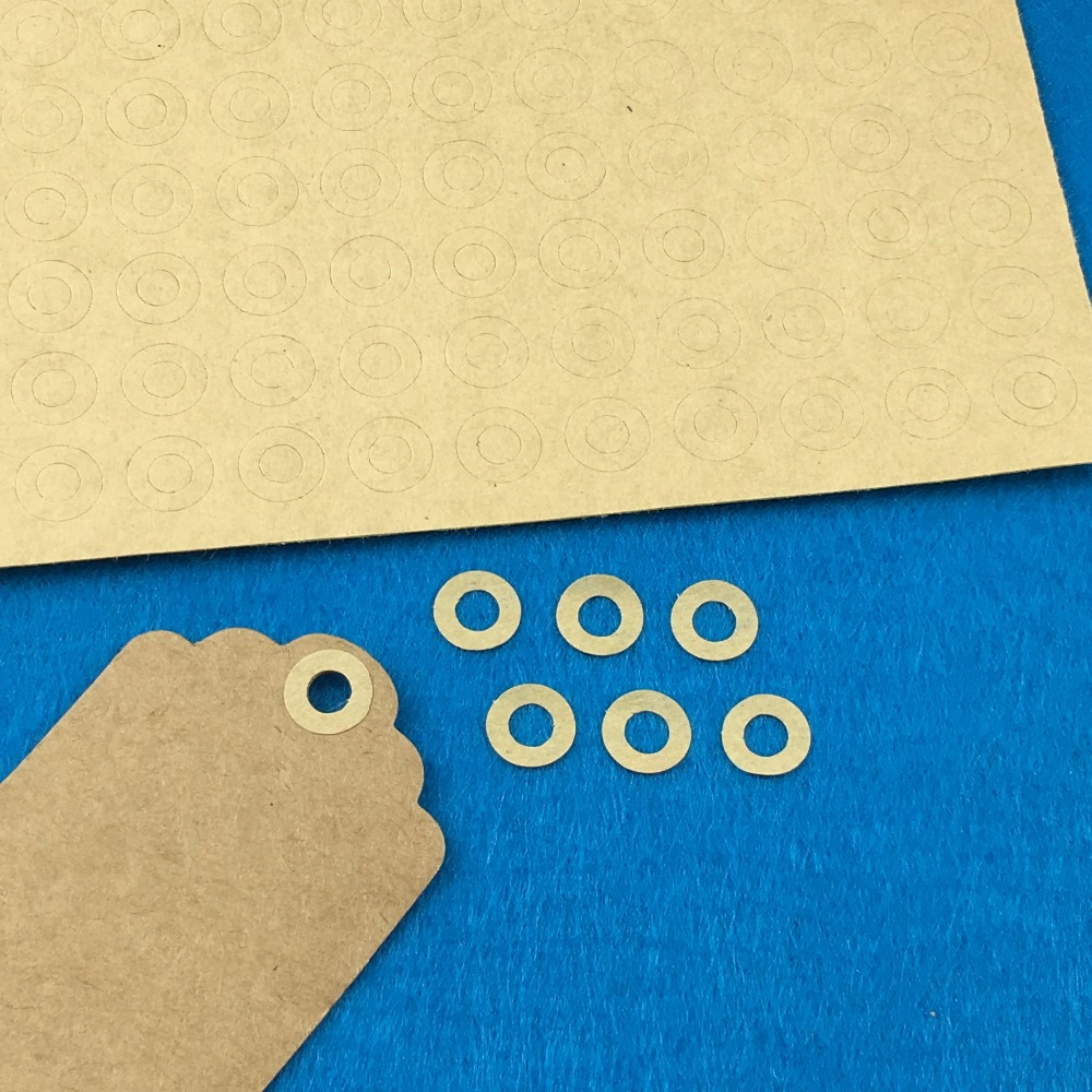 5000PCS/Lot 1cm Fashion round kraft paper Adhesive Labels sealing Stickers packaging For Jewelry/Box/gift/car/envelope