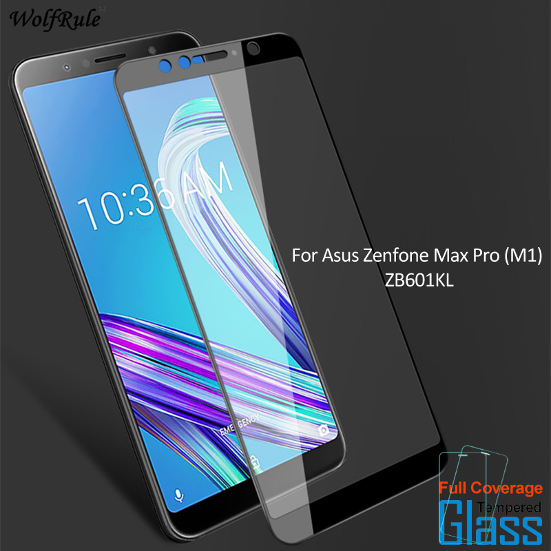 For Asus Zenfone Max Pro (M1) ZB601KL Screen Protector Tempered Glass For Asus Zenfone Max Pro (M1) ZB601KL Glass Phone Film