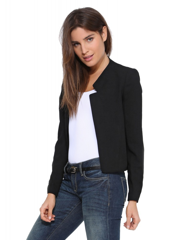 Compare Prices on Short Black Blazer- Online Shopping/Buy Low