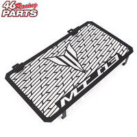 Black Motorcycle Accessories Radiator Guard Protector Grille Grill Cover For YAMAHA MT03 MT 03 MT 03 2015 2016 2017