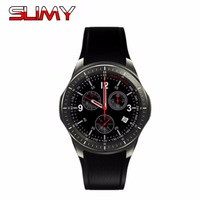 Slimy DM368 Sports Smart Watch Phone MTK6580 Android OS 3G WIFI GPS Heart Rate OLED Quad
