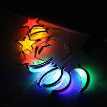 Рамадан и декор настенные светильники Светодиодный свет домашнего праздника вечерние Фестиваль пользу хорошее строки света просвечивающие нитка для украшения дома