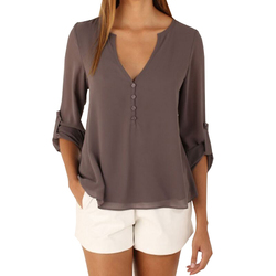 Women chiffon blouses sexy long sleeve v neck font b shirts b font female plus size.jpg 250x250