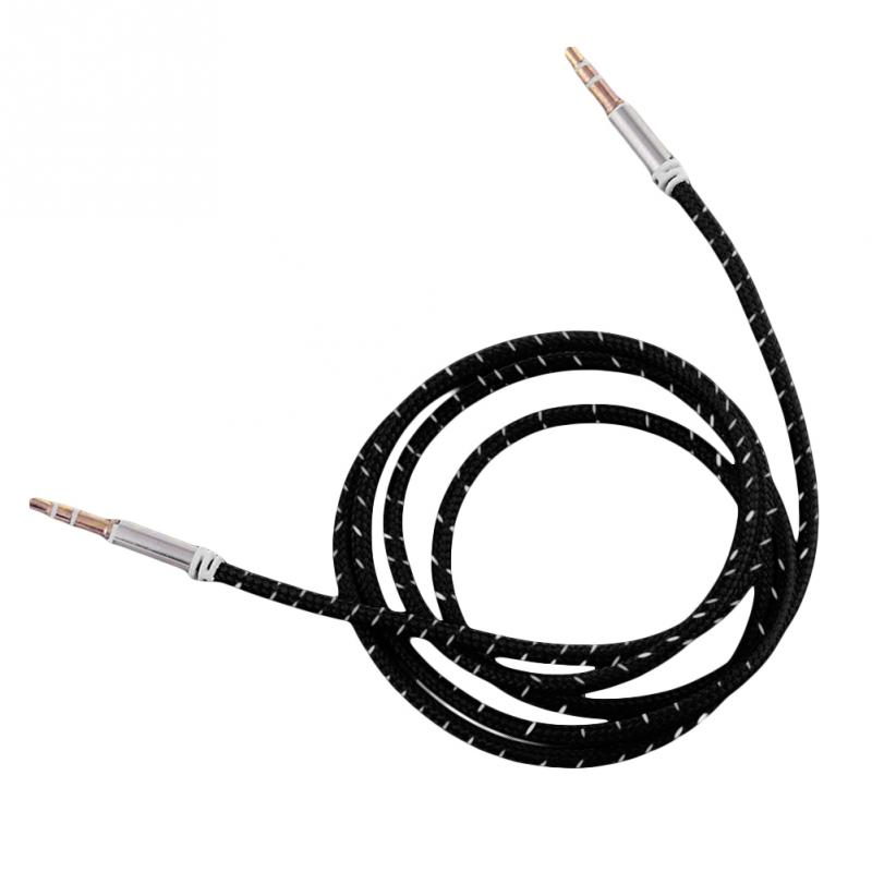 Detail Feedback Questions About Nylon Braid Aux Cable 3 5mm Jack