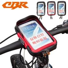 ЦБ велосипедов Сумка Открытый мешок мобильного телефона Водонепроницаемый MTB Велоспорт Рама Передняя труба велосипед посылка руль сумка аксессуары