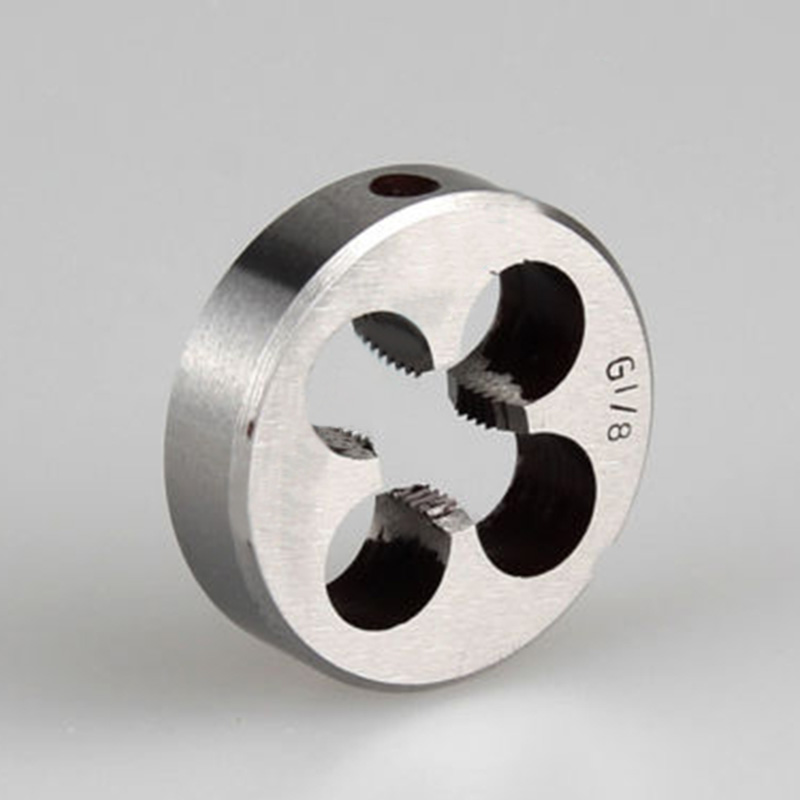 Pro Pipe Thread Round Dies BSP 1/8 1/4 3/8 1/2 3/4 HSS High Speed Steel Tools .