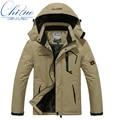 Новый зимнее пальто куртки мужчины/женщины водонепроницаемый ветрозащитный куртка Мужчины Плюс толстый бархат теплый повседневная пальто куртка размер 4XL5XL6XL7XL