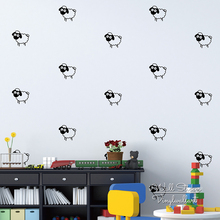 Sheep Wall Sticker Lovely Decal DIY Animal Nursery Kids Room Cut Vinyl Removable Decor P19