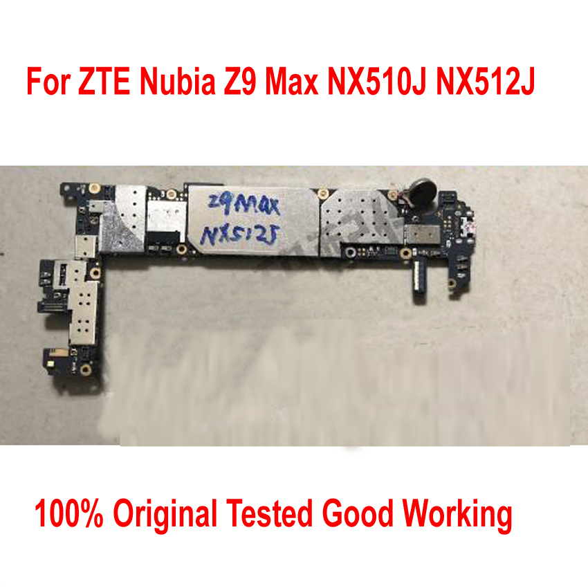 Originale Sbloccare Utilizzato Test di Lavoro Mainboard Per ZTE Nubia Z9 Max NX510J NX512J NX518J Tassa di Circuiti della Scheda Madre Cavo Della Flessione FPC
