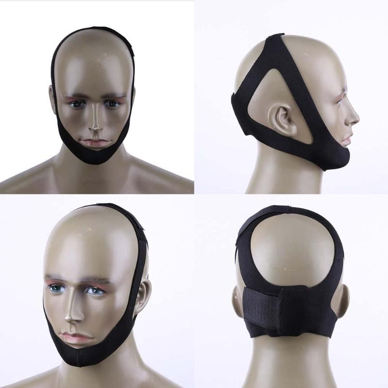 Anti-snore Headband Stop Snoring Snore Stopper Chin Jaw Snoring Resistance Snoring Resistance Face-Lift Thin Band