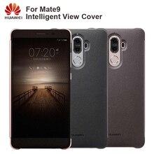 Huawei ต้นฉบับโทรศัพท์สมาร์ทกรณีฝาครอบกรณีฝาพับสำหรับ Huawei Mate9 Mate 9 ที่อยู่อาศัย Sleep อัจฉริยะโทรศัพท์กรณี