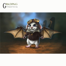 Diamond Painting Full Square Bat And Get Free Shipping On Aliexpress