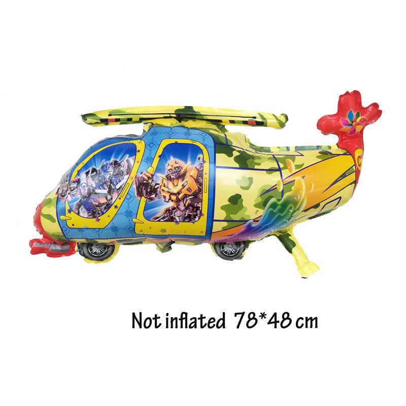 1 шт. мультфильм Микки Минни воздушные шарики вертолеты день рождения для украшения детского душа 1 года вечерние Детские шарики Globos
