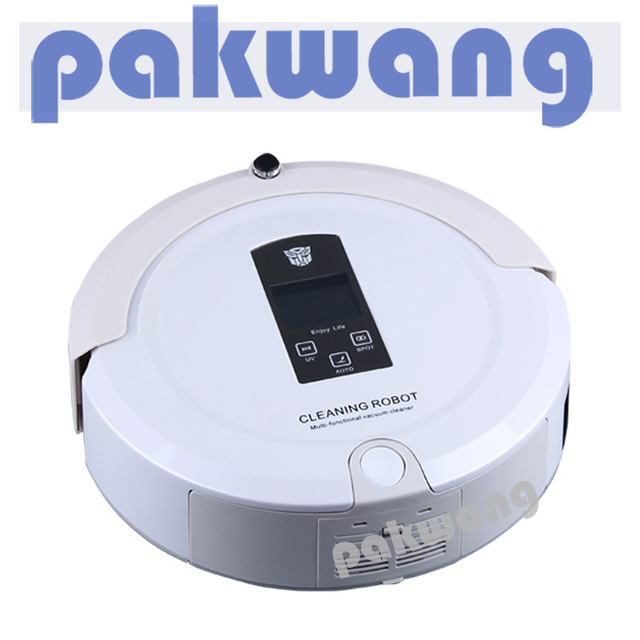 4 IN 1 Multifunction A325 Robot vacuum with Two Ways Virtual wall ,Mopping Function ,Mini Vacuum Cleaner SQ-A325 ,Small Vacuum