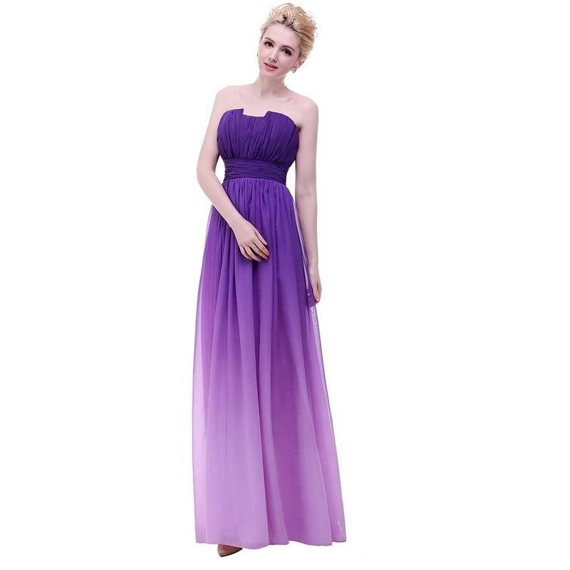 Moderno Vestido De La Dama De Honor Del Arco Iris Patrón - Ideas de ...