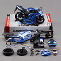 New Coming Kids DIY Educational Toys 1:12 Brand New Metal ZX 6R Assembly Motorcycle Model Toy