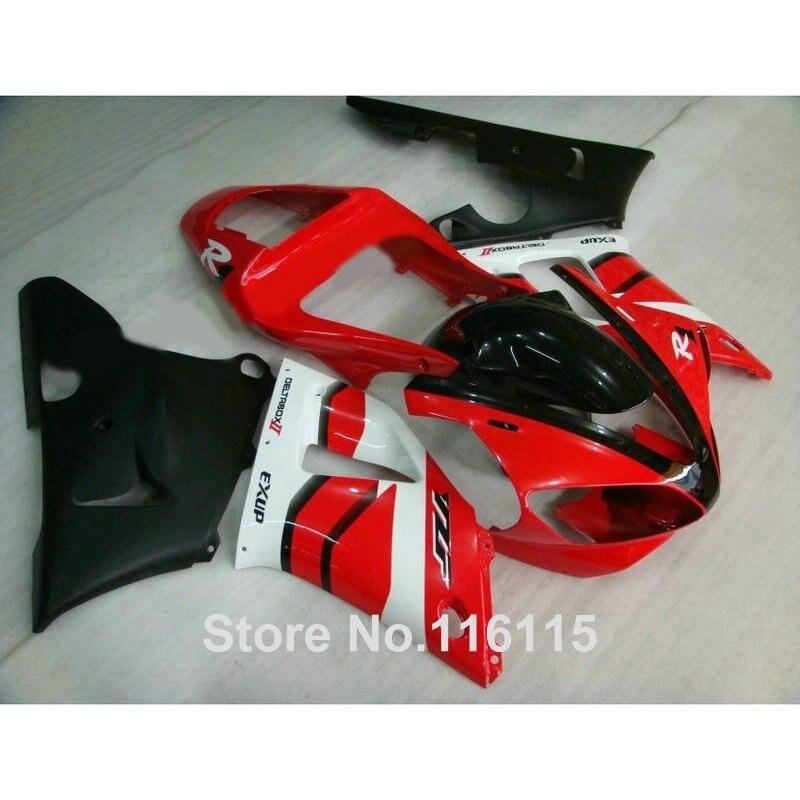 Fairing kit for YAMAHA YZF R1 2000 2001 red black white fairings Injection molding YZF-R1 00 01 full set GL7 hot sales yzf600 r6 08 14 set for yamaha r6 fairing kit 2008 2014 red and white bodywork fairings injection molding