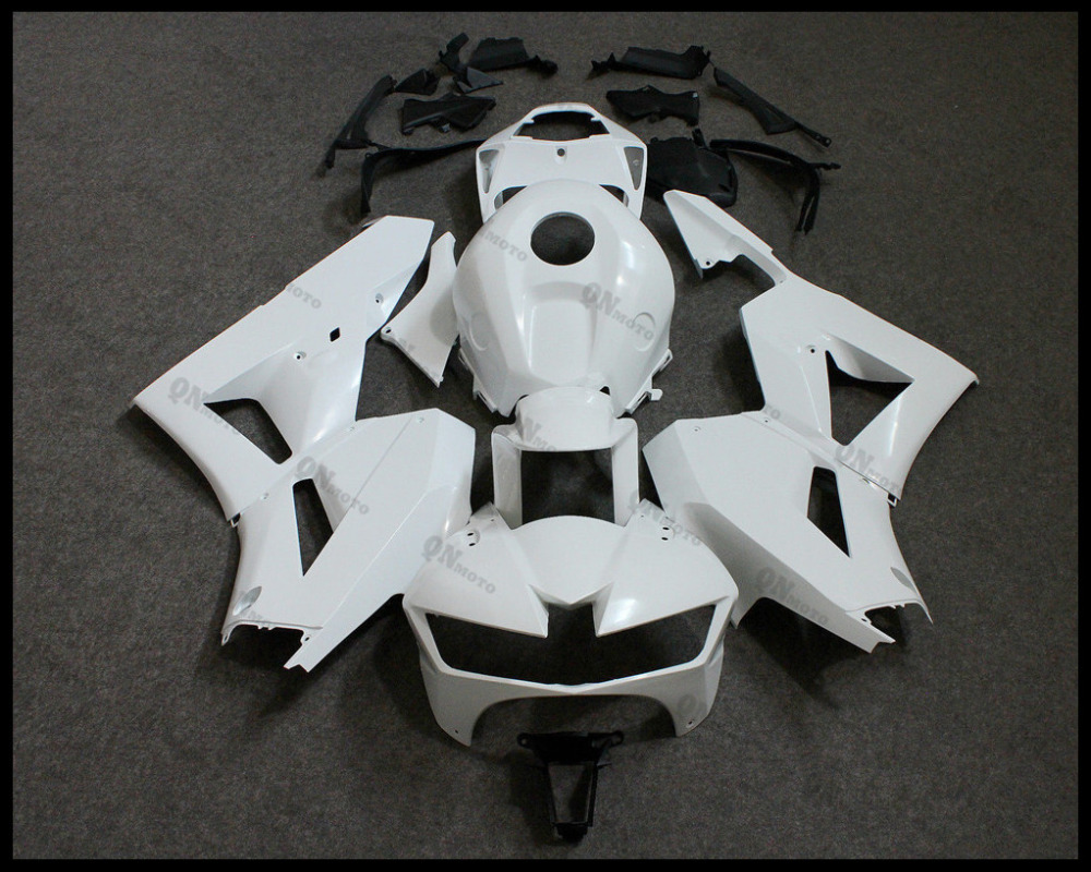 Motorcycle ABS Unpainted White Fairing Kit For Honda CBR600RR CBR600 RR CBR 600RR F5 2013 2014 2015 + 3 Gift unpainted tail fairing kit rear for honda cbr600rr cbr 600 rr 2003 2004 cbr600 cbr 600rr 03 04 motorcycle frame injection mold
