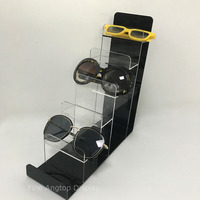 Acrylic 6 tier Wallet Display Jewelry Stand Sunglasses Holder