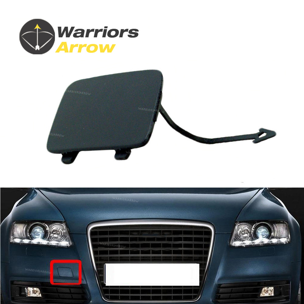 1PCS Front Bumper Tow Hook Cover Cap for 2009-2011 AUDI A6