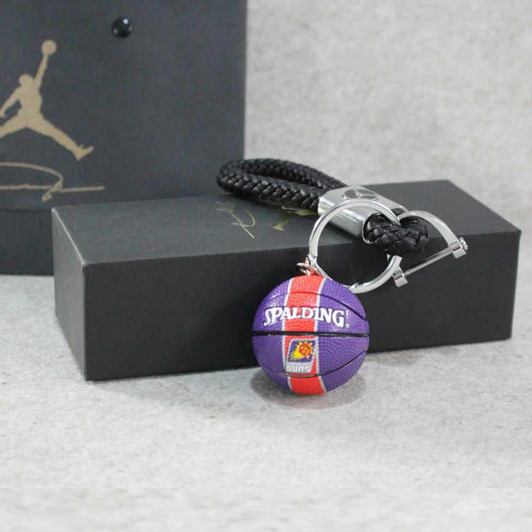 49b6fd873c ... Howplay Basketball model keychain pendant car bag basketball fan  boyfriend creative birthday gift for air jordan ...