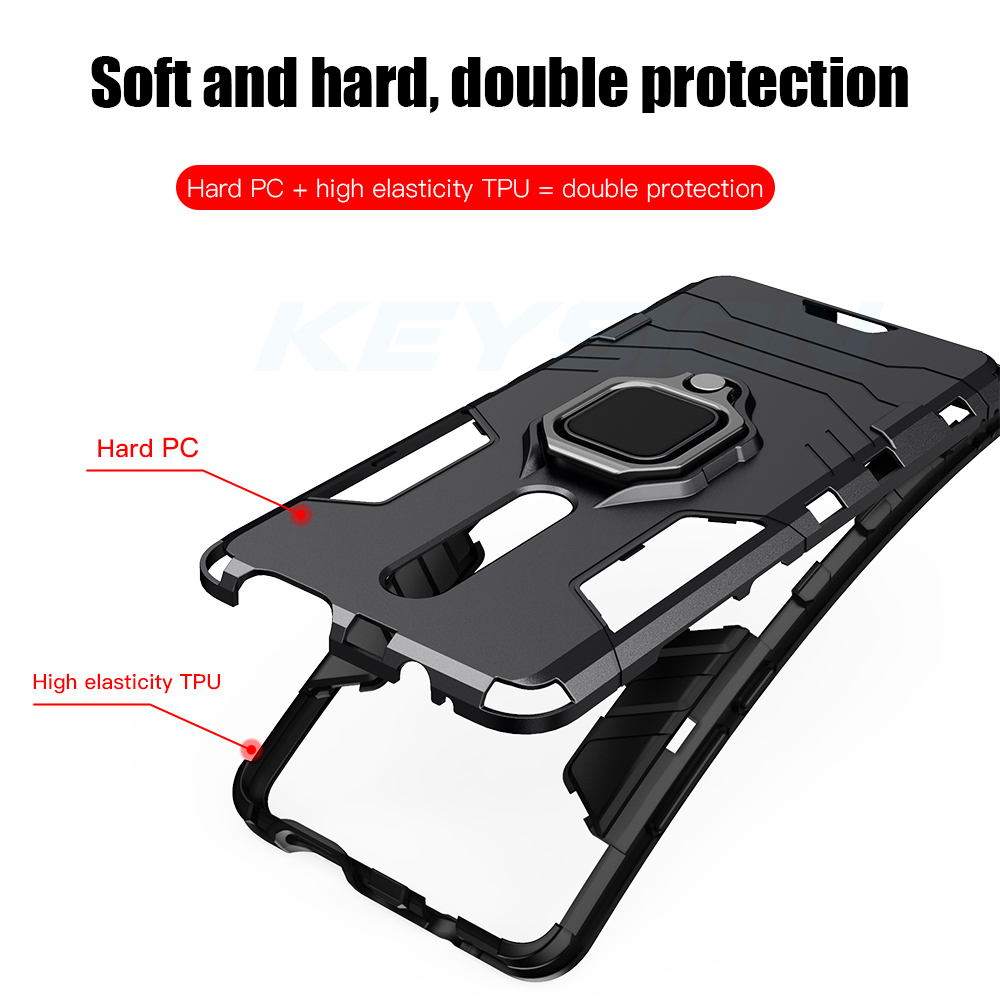 KEYSION Armor Standing Case With KickStand For Redmi Xiaomi And Mi 3