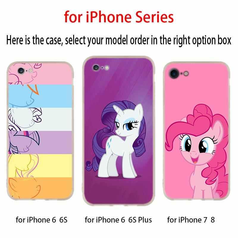 Для iphone X case «Мой маленький пони» Мягкий силиконовый чехол для телефона чехол для Apple iphone 4 5 5S SE 6 6s 7 8 плюс XR XS Max случае