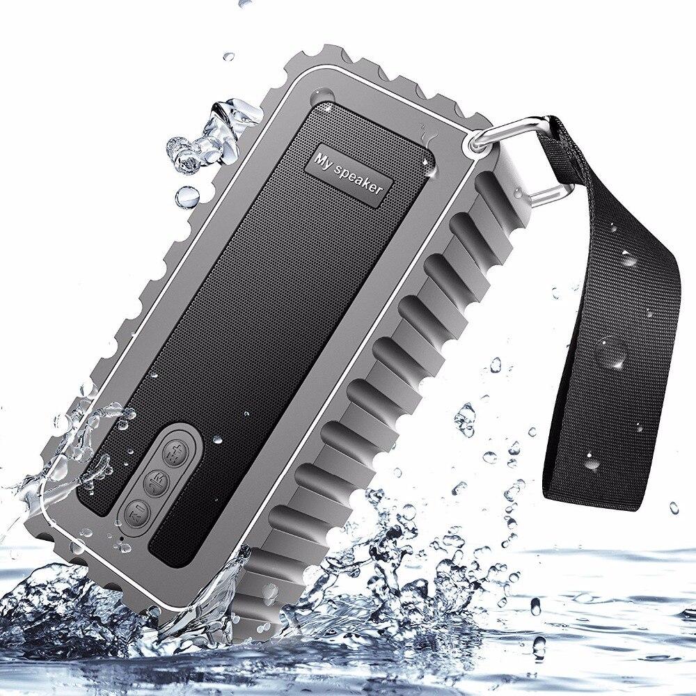 10W ip67 waterproof bluetooth speaker bluetooth portable dustproof speaker with radio with card outdoor shockproof speaker