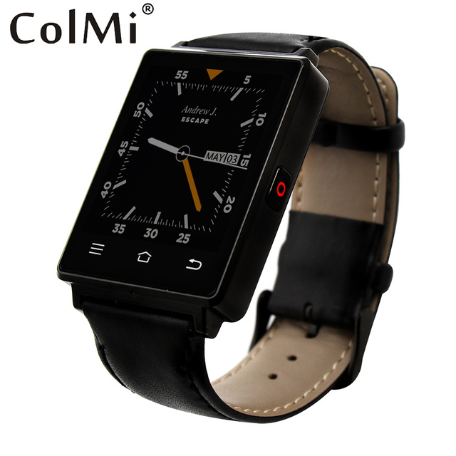 ColMi VS106 Smartwatch Android 5.1 Чсс Трекер Часы MTK6580 1 Г RAM 8 Г ROM 450 мАч Батареи GPS WI-FI Smart Watch