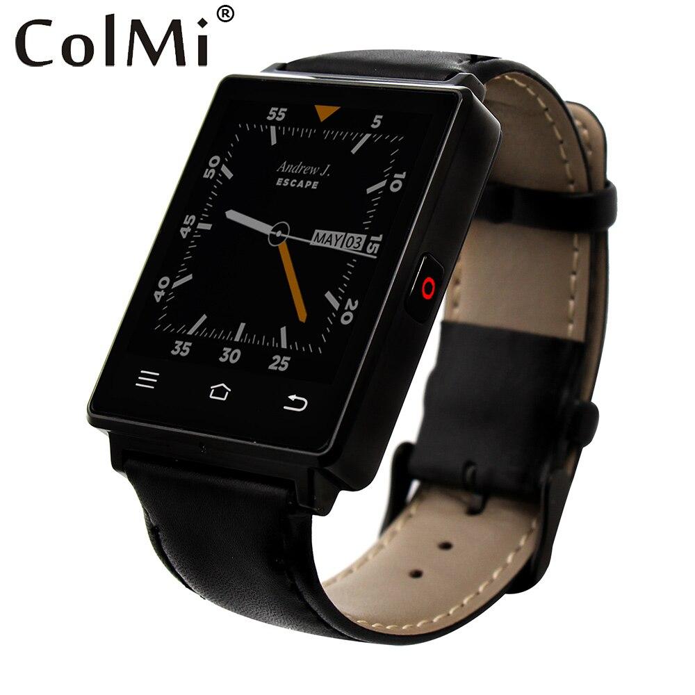 imágenes para Colmi vs106 rastreador smartwatch android 5.1 del ritmo cardíaco reloj mtk6580 1g ram 8g rom 450 mah batería gps wifi smart watch
