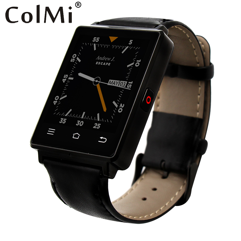 bilder für Colmi vs106 smartwatch android 5.1 herzfrequenz tracker uhr mtk6580 1g ram 8g rom 450 mah batterie gps wifi smart watch