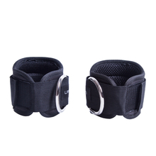 1 Pair Ankle Straps Weight lifting Multi Gym Cable Attachment Thigh Leg Cuffs Ab Leg Glute Exercises Fitness Sports Accessories
