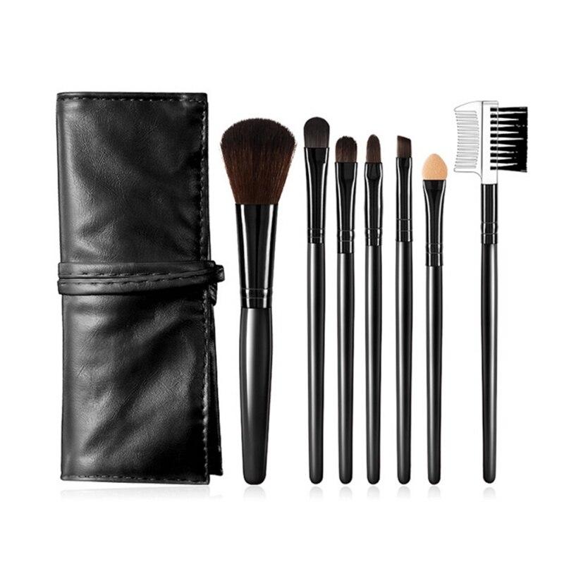 7 шт Профессиональный набор кистей Косметика брендовые кисти для макияжа инструменты фундамент кисть для лица Make Up основы красоты