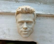 1/6 Brad Pitt Unpainted Head Sculpt for 12Bodies Action Figures
