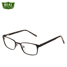 Fashion Retro Mirror Frame Metal Stainless Steel Glasses For Men And Women Prescription Myopia