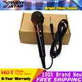 Quality 6.5mm Jack Plug Handheld Dynamic Wired Microphone Karaoke System Mike Mic For Singing Stage PC KTV Loudspeaker Amplifier