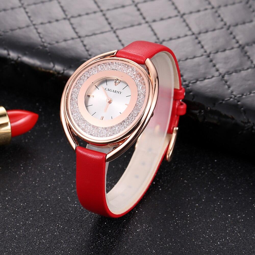cagarny 2018 Fashion Women Watch Luxury Brand Women Casual Wrist Watch Ladies Quartz Watch Relogio Feminino bayan kol saati wholesale drop shipping (12)