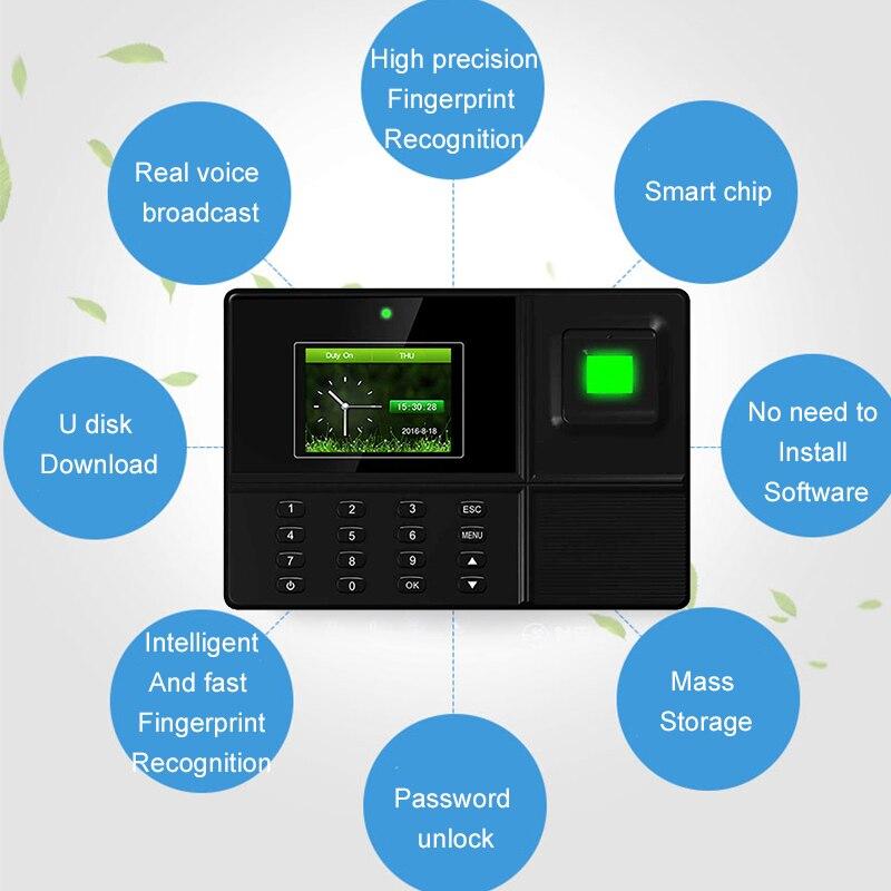 Eseye Biometric Time Attendance System USB Fingerprint Identification Attendance Access Control Employees Device Time Recorder bashar taha ashraf saleem and ahmad al qaisia real time identification