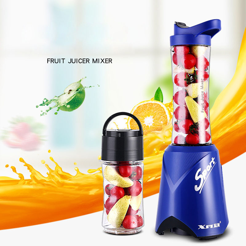 Portable Mini Vacuum Juicer Multi-function Juice Mixer Preservation Juicer Fruit Vegetables Juicers Fruit Juice Mixer 220V