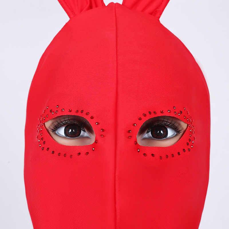 Kostiumy do tańca jazzowego kobiety kostium króliczka body kostium Sexy piosenkarka kobieta Dj Ds Gogo urodziny stroje sceniczne pokaż ubrania DN2543