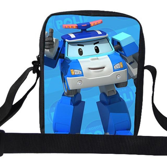 464348abcded Cute Cartoon Single Bag For Kids Boys Girls Robot Shoulder Bag For Children  School Acrossbody Messenger Bag