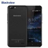 Blackview A7 Smartphone Android 7 0 MT6580A 1GB RAM 8GB ROM Quad Core Mobile Phone Dual