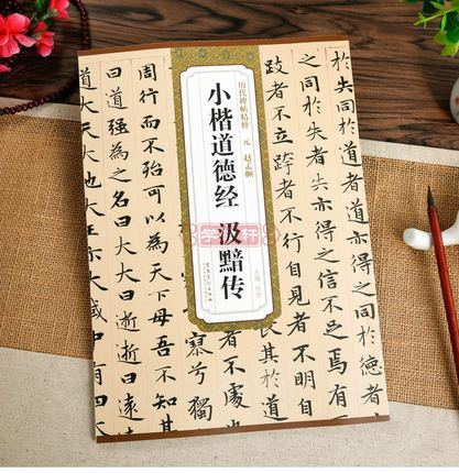 Chinese Brush Calligraphy Book dao de jing by zhao mengyan Xiaokai Regular Script Book chinese calligraphy book album of zhao zhiqian brush ink master art